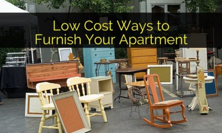 Low Cost Ways to Furnish Your Apartment