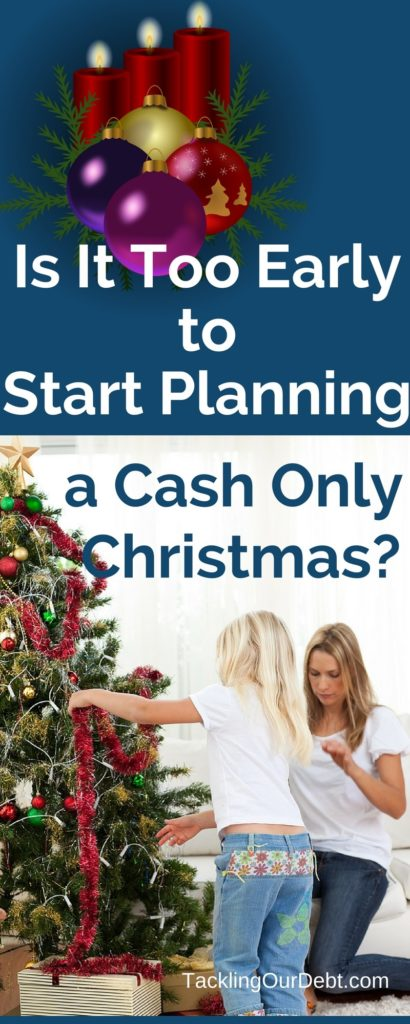 A cash only Christmas is pretty self explanatory and it is an excellent way to save money. Instead of paying for Christmas with credit cards, you only pay with the cash that you have on hand. But where does that cash come from and what can you begin doing today to ensure that you have enough cash to pay for Christmas in December? Here is a list of things that you can do this year to get ready for a cash only Christmas: Click thru to learn more!