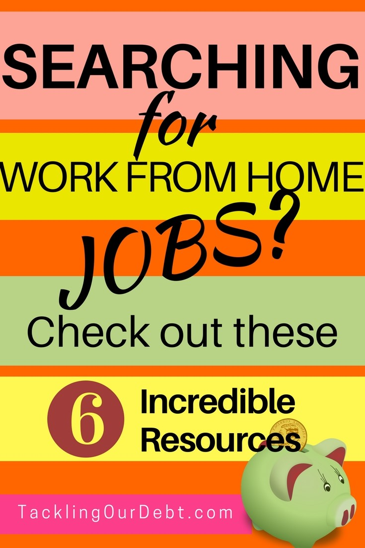 Searching for work from home jobs? Check out these six incredible resources. Learn more.