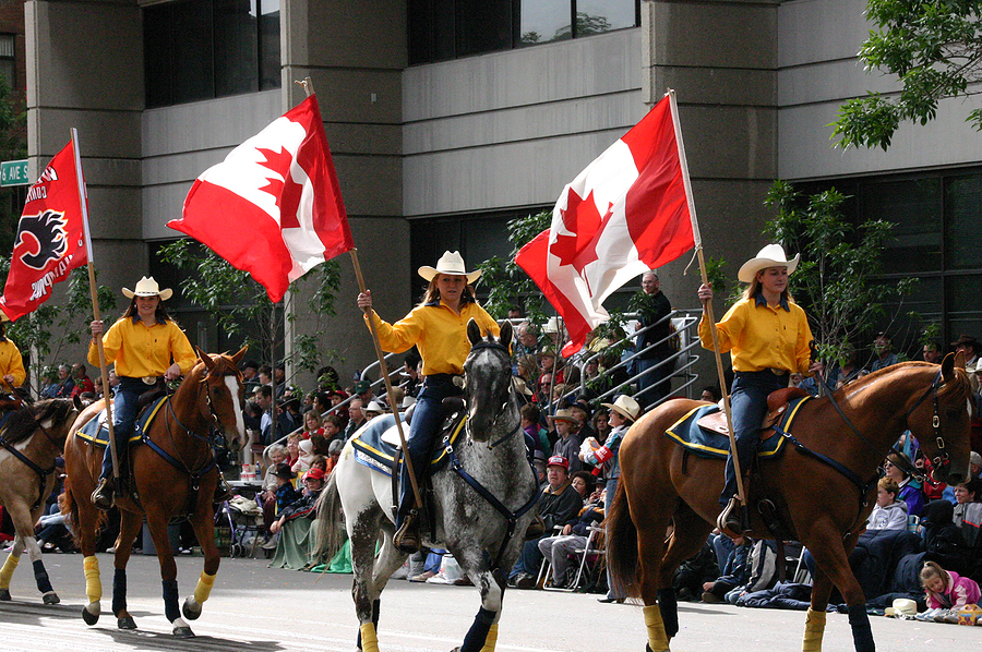 Calgary Stampede Parade Summer Vacation Spot