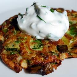 Zucchini Potato Latkes