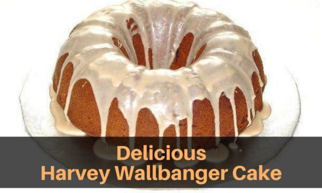 Delicious Harvey Wallbanger Cake