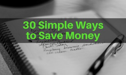 30 Simple Ways to Save Money