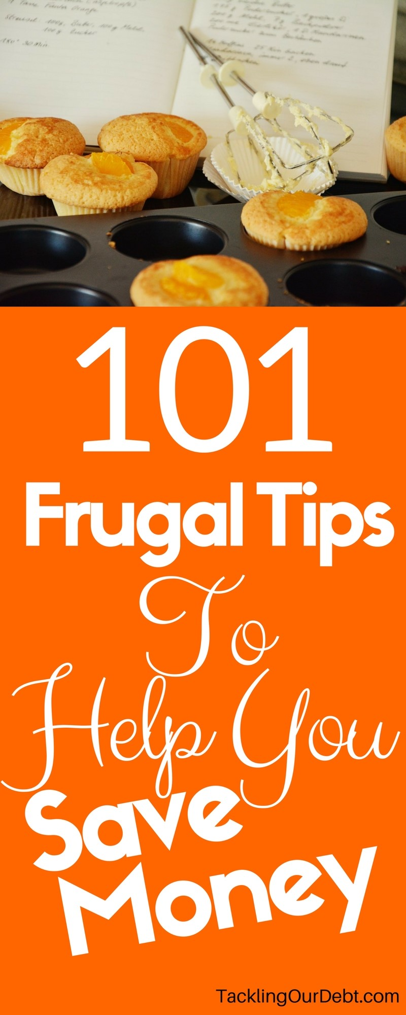 Looking for ways to save money and ensure you stay out of debt, these 101 frugal tips are for you.