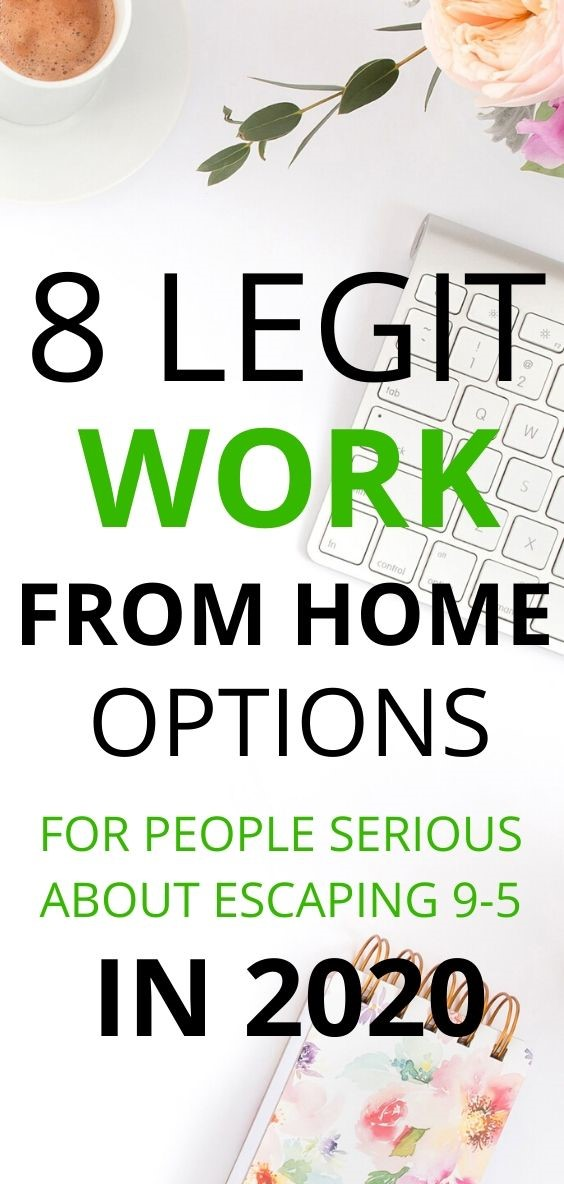 Work From Home Options for Serious People in 2020