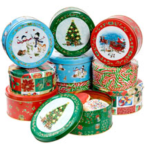 cookie tins for gift giving