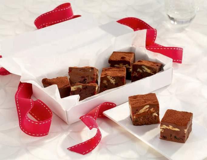 make chocolate fudge for christmas gifts