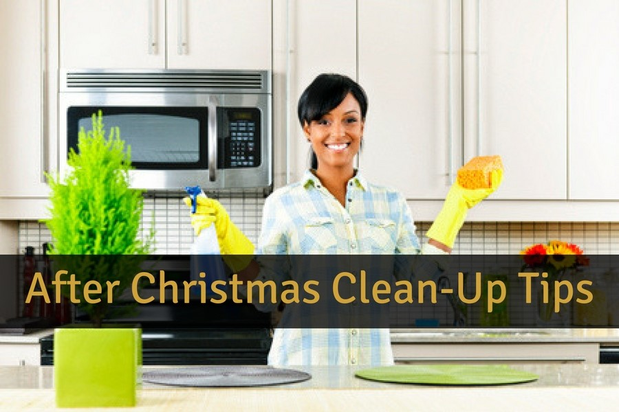 After Christmas Clean-Up Tips