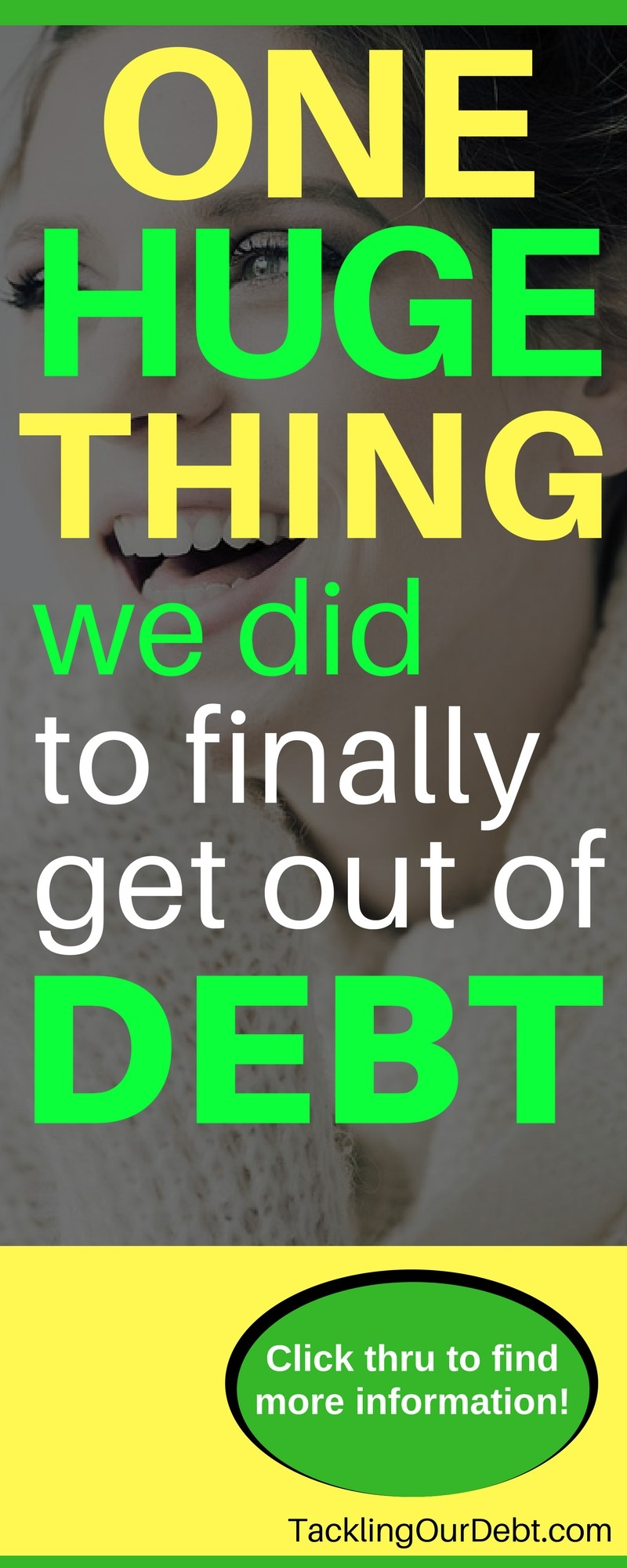 Manage Your Money: One huge thing we did to finally get out of debt and rebuild our personal #finances. Click thru to learn more!