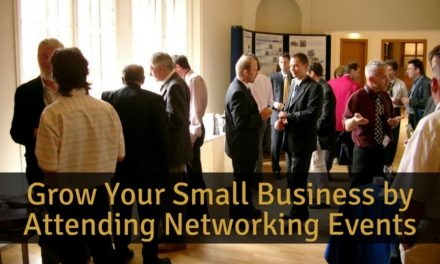 Grow Your Small Business by Attending Networking Events