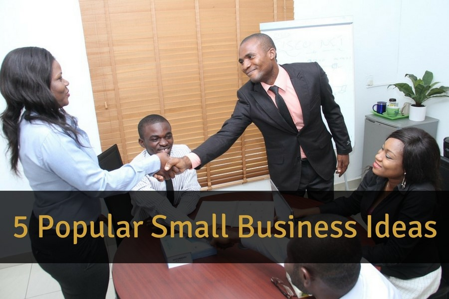 5 Popular Small Business Ideas
