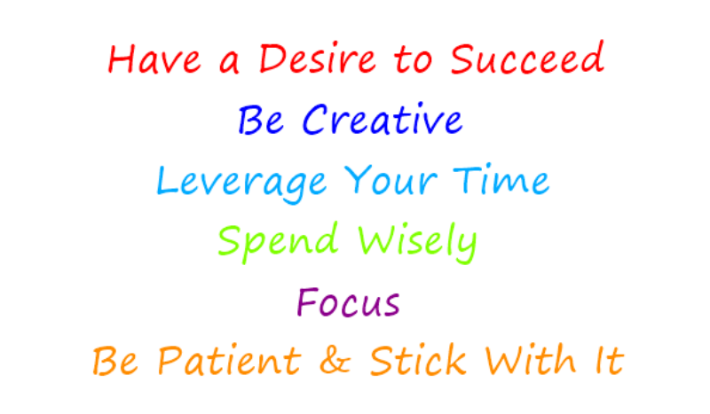 have a desire to succeed