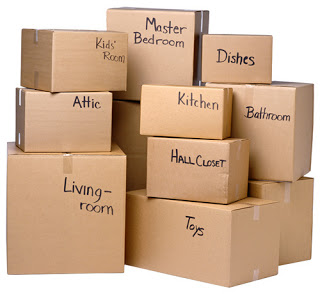 make packing as easy as possible by labelling all of your moving boxes