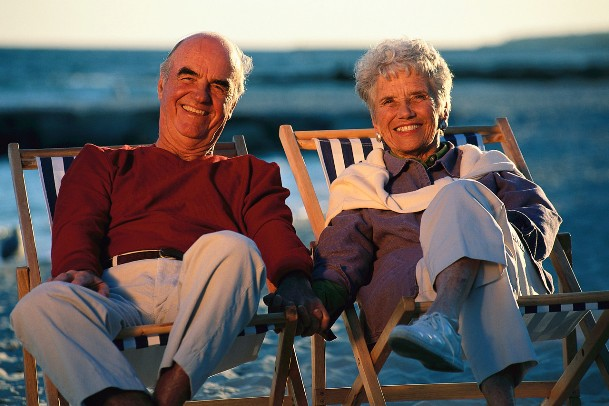 Enjoying your retirement years while living financially free.