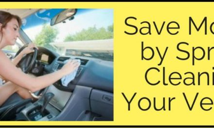 Save Money by Spring Cleaning Your Vehicle