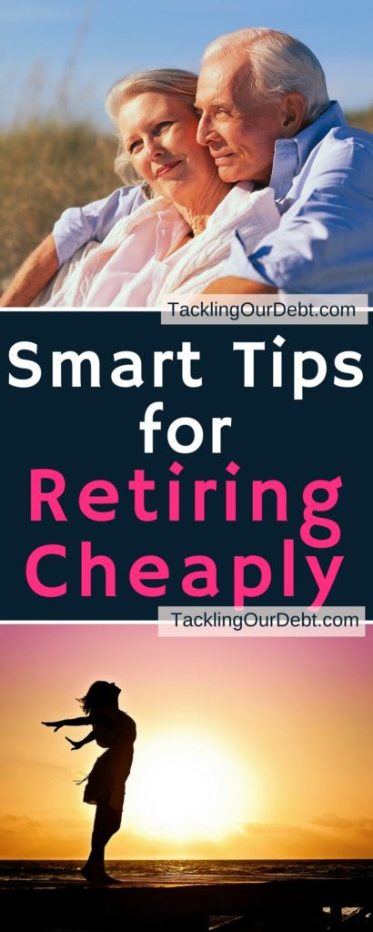 Retirement should be the cap on a considerable life well lived. You've done your best, worked yourself to the bone in your youth, and now it's your chance to spend your golden years in peace and relaxation. Smart Tips for Retiring Cheaply. Click thru to learn more! #Retiring #Retirement #Money