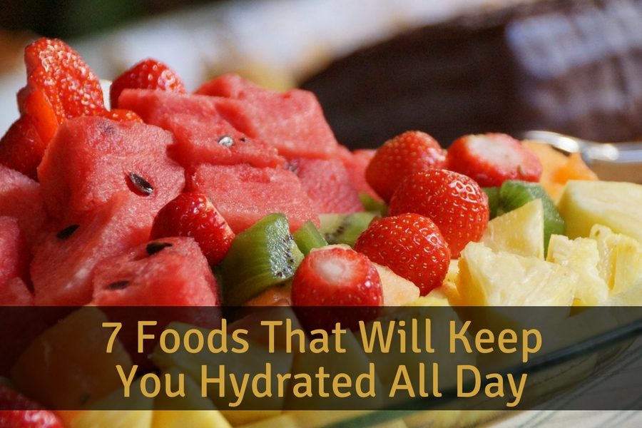 7 Foods That Will Keep You Hydrated All Day