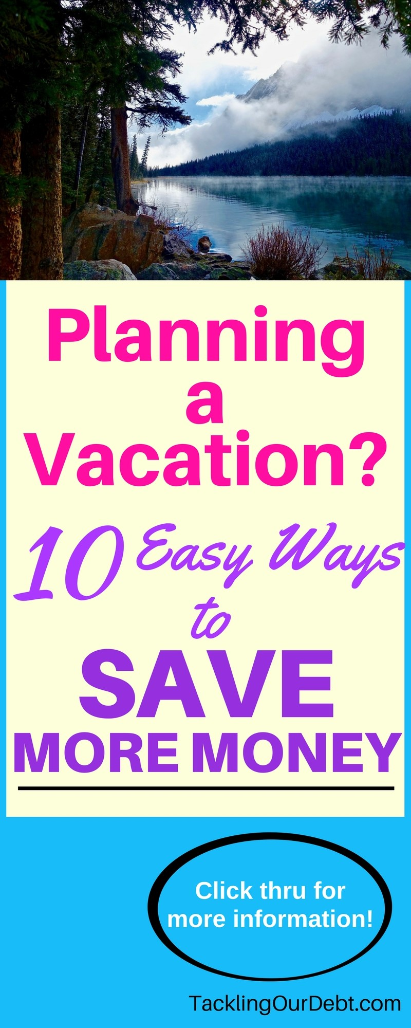 Do you enjoy traveling? Are you planning your next vacation? Here are ten easy ways to save more money the next time you travel. Click thru for more information!