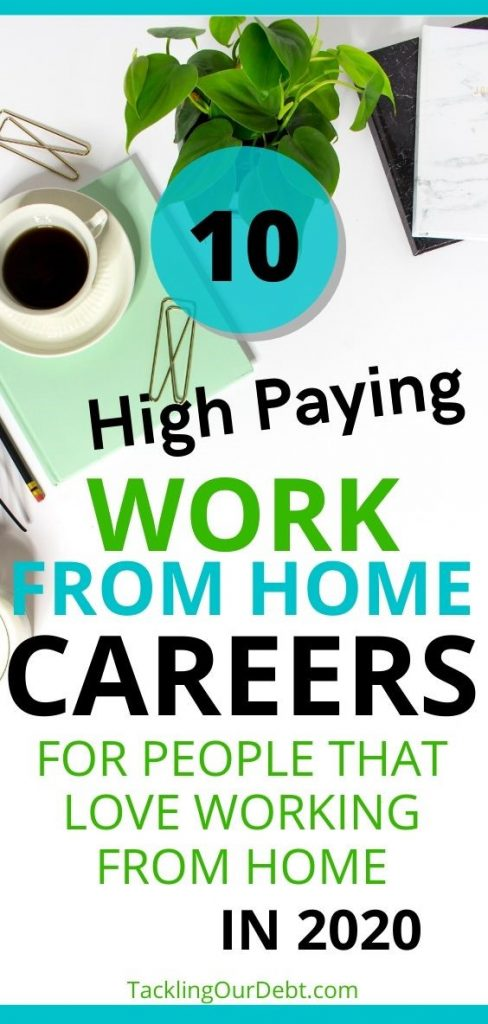 Ten High Paying Work From Home Careers