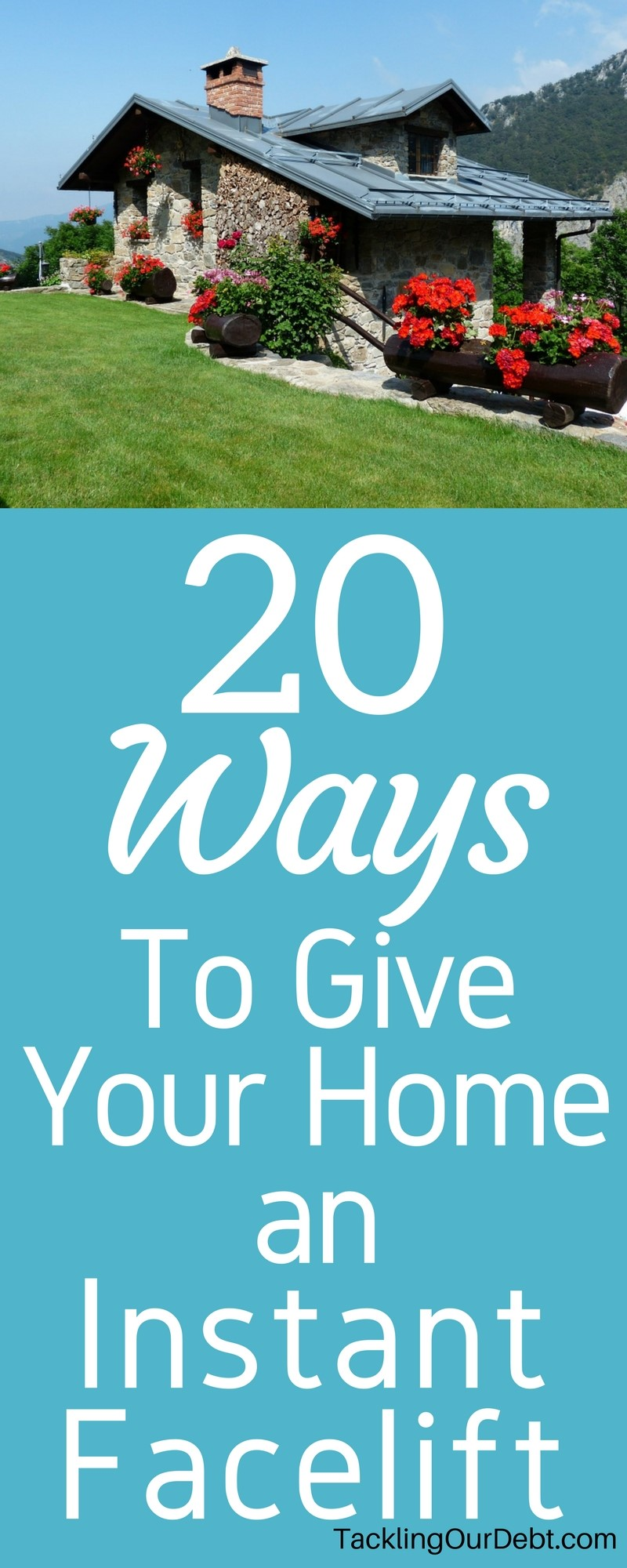 After a few years of living in your dream house, chances are you're starting to feel restless. The home you loved is no longer as dreamy or appealing as it once was. Here are 20 easy and inexpensive ways to give your home an instant facelift to freshen up the house you love.
