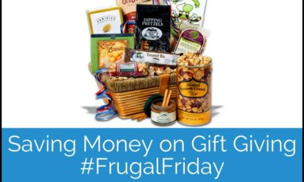 Saving Money on Gift Giving #FrugalFriday