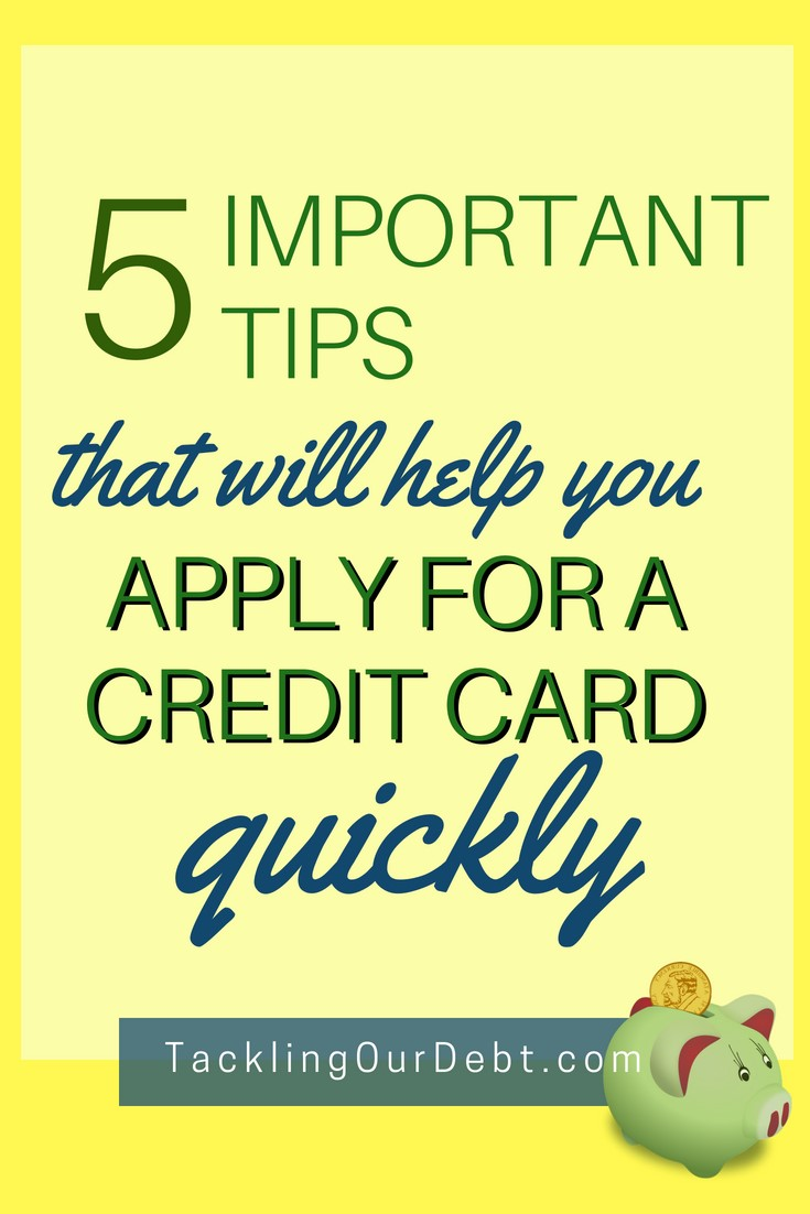 So happy that I found these Five Important Tips That Will Help You Apply For a Credit Card Quickly. Click to learn more
