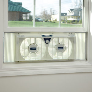 window fan to keep home cooler