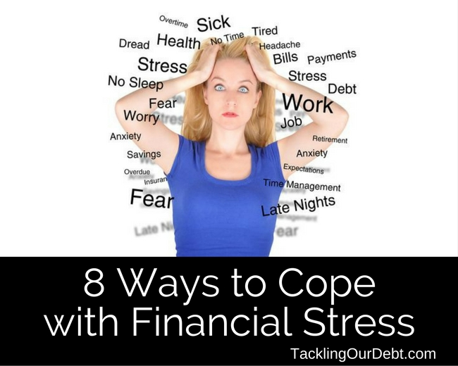 8 Ways to Cope with Financial Stress