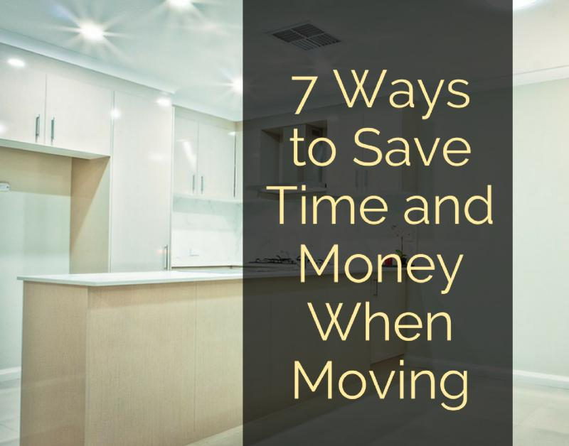 7 Ways to Save Time and Money When Moving