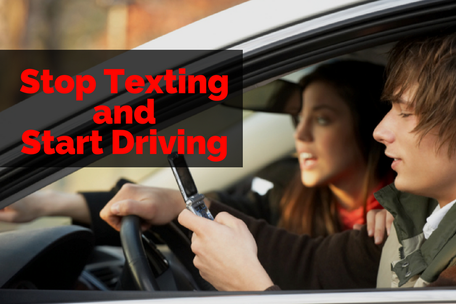 Stop Texting and Start Driving