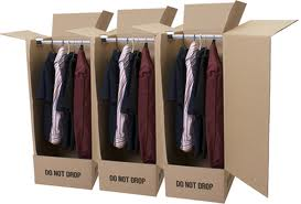 Use Wardrobe boxes to make moving quicker.
