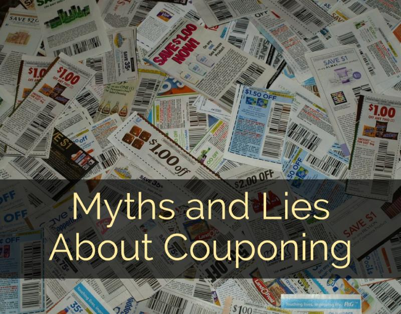 Myths and Lies About Couponing