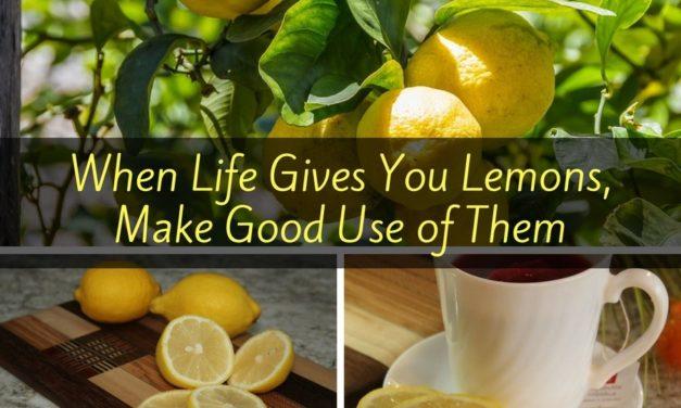 When Life Gives You Lemons, Make Good Use of Them