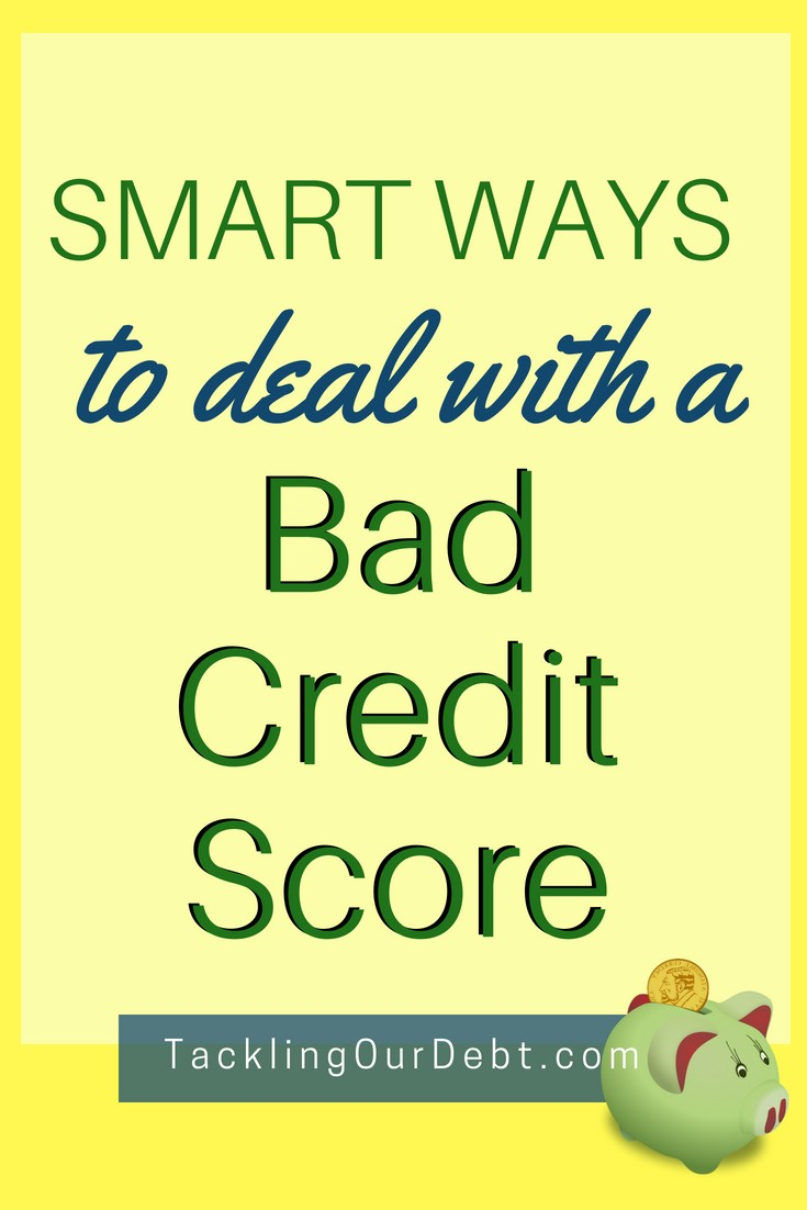 Just had to share these smart ways to deal with a bad credit score. Click to learn more!