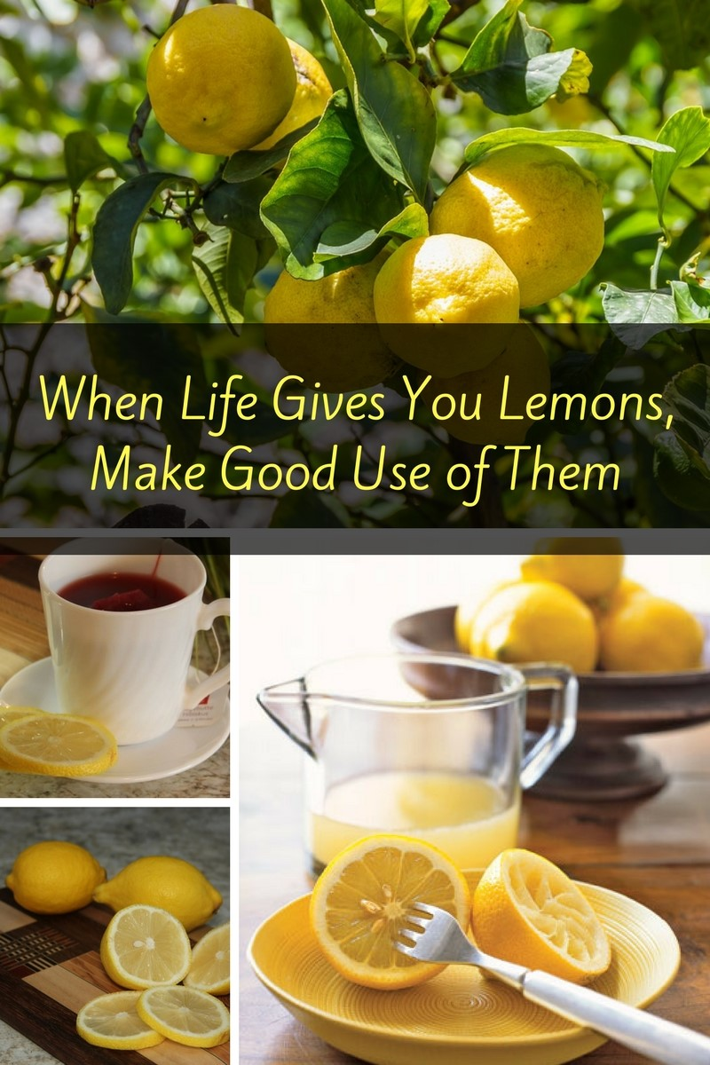 When Life Gives You Lemons, Make Good Use of Them To Stay Healthy