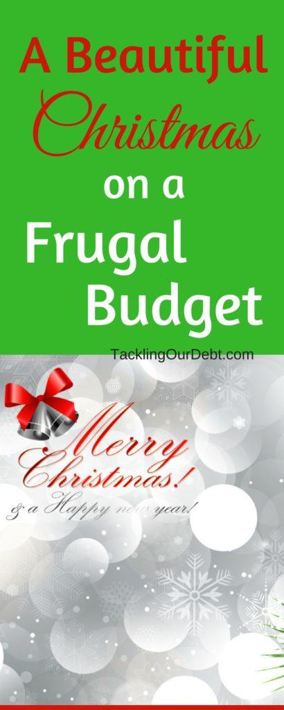 A Beautiful #Christmas on a #Frugal #Budget