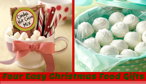 Four Easy Christmas Food Gifts