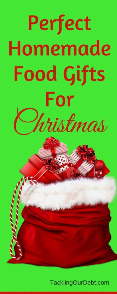 Homemade #Christmas food gifts
