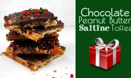 3 Steps to Make Holiday Baking a Snap: Chocolate Peanut Butter Saltine Toffee