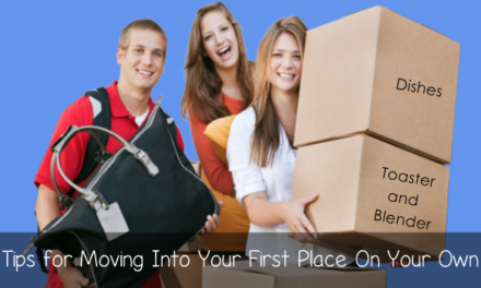 Tips for Moving Into Your First Place On Your Own