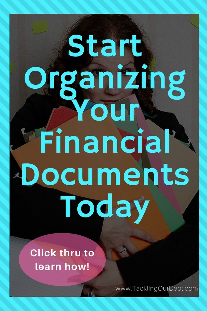 Start Organizing Your Financial Documents Today. Click thru to learn how.