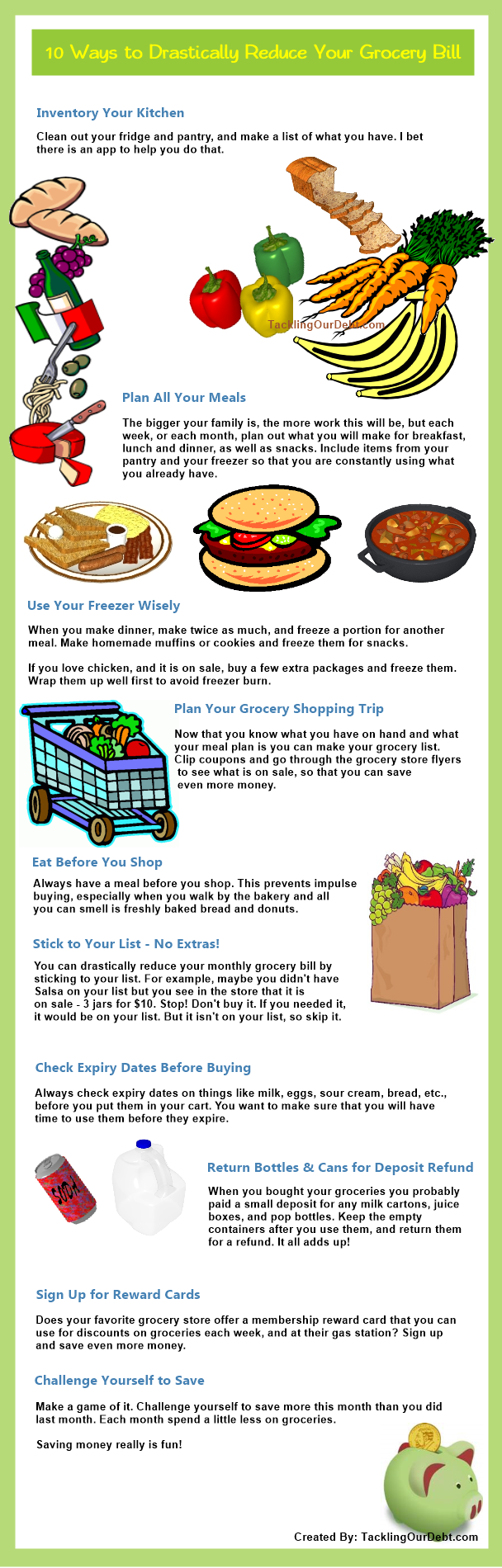 10 Ways to Drastically Reduce Your Grocery Bill