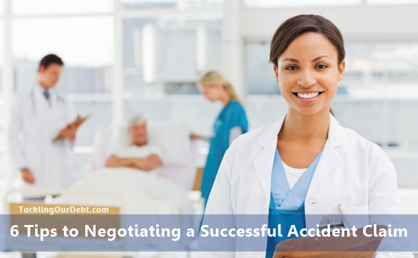 6 Tips to Negotiating a Successful Accident Claim