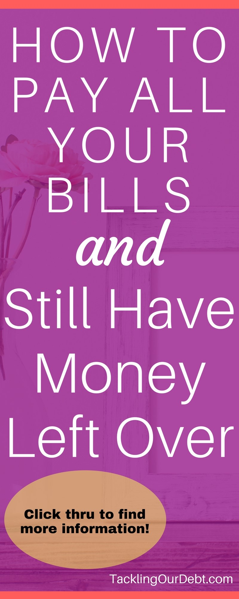 How to Pay All Your Bills and Still Have Money Left Over Because You Know How to Stretch a Dollar. Click thru to learn more!