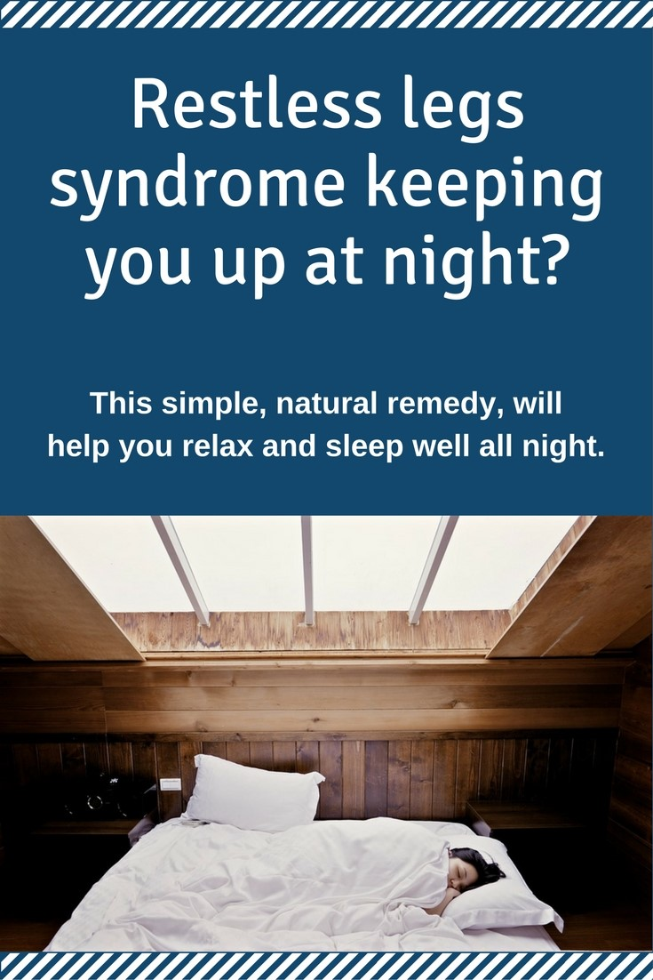 restless legs syndrome keeping you up at night