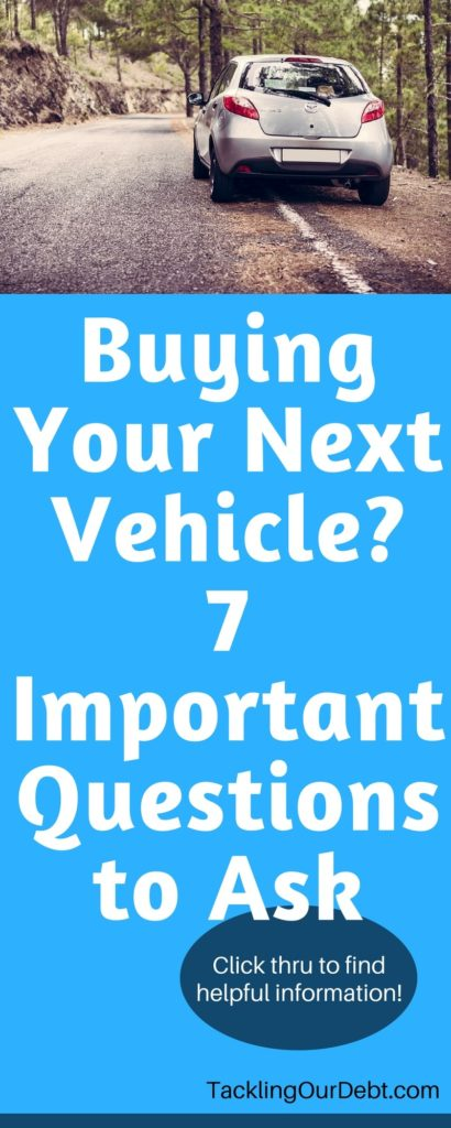 Are you thinking about buying your next vehicle? Because vehicles cost so much money you want to be sure to find the right car for you. Before you even leave the house to start shopping you need to ask yourself some questions and seriously consider your needs and wants. Click thru to learn more!