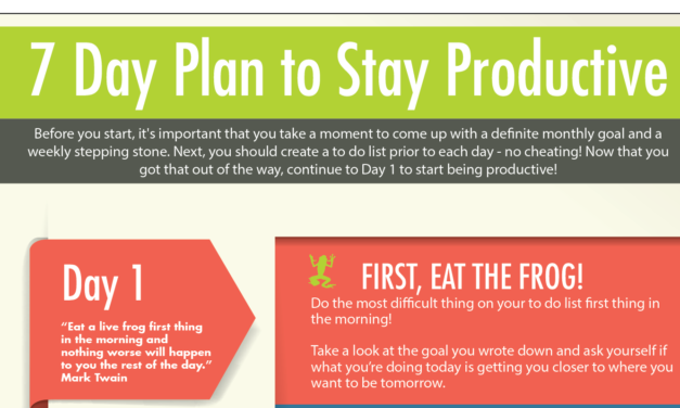 Seven Ways to Boost Your Productivity #Infographic
