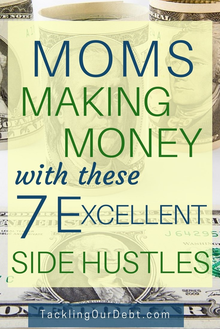 Moms are making money with these seven excellent side hustles, and you can too. You can happily be at home, raising your children, managing your household, while making money. Using the valuable skills that you already have, you can easily work on any one of these side hustles.