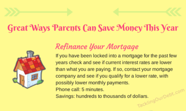 Great Ways Parents Can Save Money This Year #Infographic