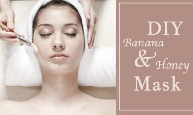 DIY Banana Honey Facial Mask